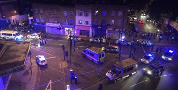 Van Mows Down Worshippers Near London Mosque UPDATED