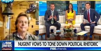 'I Never Hinted Violence': Nugent Says He 'Never Projected Hate' Telling Obama To 'Suck' On Machine Gun