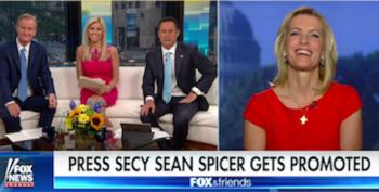 Laura Ingraham's Fox Friends Encourage Her To Become White House Press Secretary