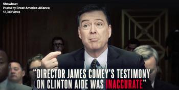 Newt Gingrich's Pro-Trump 'Non-Profit' Launches Anti-Comey Attack Ad?!?