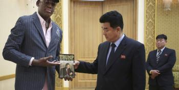 What Passes For 'Diplomacy' Under Trump? Dennis Rodman Gives 'Art Of The Deal' To North Koreans