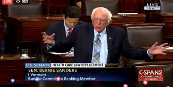 Senate Dems #HoldtheFloor To Bring Attention To GOP Stealth TrumpCare Bill