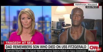 Heartbreaking: Navy Sailor's Dad Talks To CNN About His Lost Son