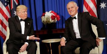 Aussie PM Mocks Trump For Having 'Russian Guy' Help Him Win