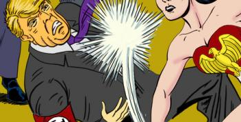Open Thread: Wonder Woman Punches 'Putiac's Puppet'!