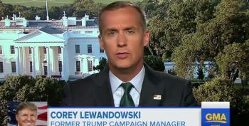 Unhinged Lewandowski Rants About How Trump Can Fire Anyone He Wants