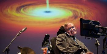 Stephen Hawking Says Trump May 'Push Earth Over The Brink' Until It's '250 Degrees And Raining Acid'