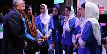Afghan Girls Twice Denied Visas Just Won Silver Medals