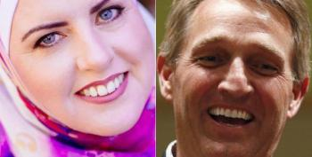Jeff Flake Defends His Democratic Challenger From Islamophobic Attacks
