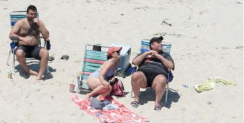 Chris Christie Uses Beach He Shut Down To The Public For His Family