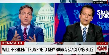 'Don't You Owe A Duty To Truth?' Jake Tapper Calls Out Scaramucci For Denying Russia Scandal
