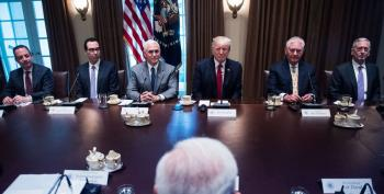 Trump Holds Second Cabinet Meeting - As Weird As The First