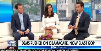 Fox Lies About ACA Being 'Jammed Down Everyone's Throats' To Give GOP Cover On Trumpcare