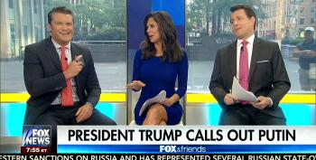 Fox Heaps Praise On Trump For Saying He'll Work With Putin On Cybersecurity