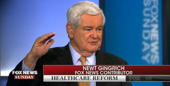 Newt Gingrich Admits ACA Repeal Isn't So Easy Now That People Are Paying Attention
