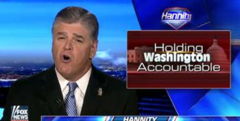 Sean Hannity Pretends To Care About 'The American People' As He Demands GOP Take Away Health Insurance