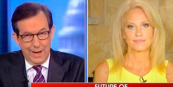 'Let's Not Waste Any More Time': Chris Wallace Shuts Down Kellyanne Conway For Linking Clinton To Russia