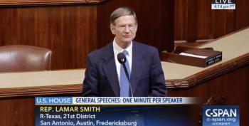 Lamar Smith On Climate Change 'Benefits': Melting Ice Creates New Shipping Lanes