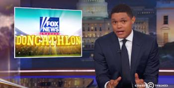 Watch Trevor Noah Explain Fox News' 'Doncathlon'