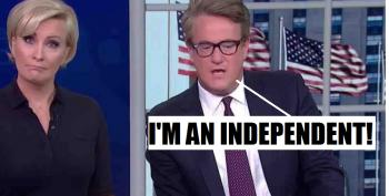No, Joe Scarborough, You Don't Get To Call Yourself An 'Independent'