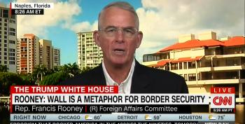 GOP Rep: Trump's Border Wall Promise Just 'Campaign Hyperbole'