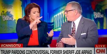 'Can You Spell Hypocrisy?' Ana Navarro Nails Apologist For Trump's Arpaio Pardon