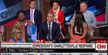 Crazy Trump Supporter Panel: 'Charlottesville Was A Set-Up'