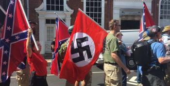 Trump Coddles Fascist Followers, Blames Charlottesville Violence 'On Many Sides'