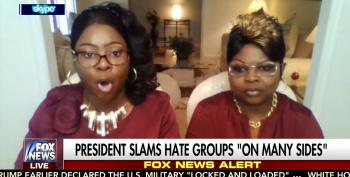 'Diamond & Silk' Play 'Both Sides' Apologists For Trump's Refusal To Condemn White Supremacists