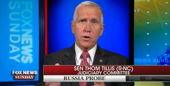 Sen. Thom Tillis Knocks Down Trump's Assertion That Russia Probe Is A 'Witch Hunt'