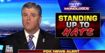 Sean Hannity Is Still Painting Donald Trump As The Real Racial Victim Of Charlottesville