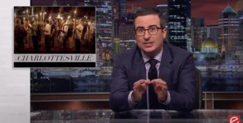 John Oliver Deconstructs Trump's Non-Response To Charlottesville
