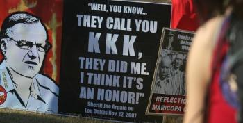 Back In 2007 Arpaio Said It Was An 'Honor' To Be Compared To The KKK
