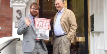 GOP Representative And White Supremacist Charles C Johnson Pay Julian Assange A Visit
