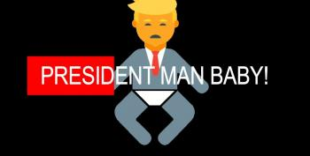 Doesn't President Man-Baby Have Anything Better To Do? (UPDATED)