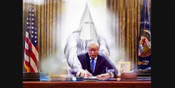 Trump Tweet-Rages About Moral Equivalence, Confederate Statues