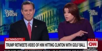 CNN's Navarro Blasts Trump Over Clinton Golf Ball Tweet: 'We Cannot Normalize This Kind Of Behavior'