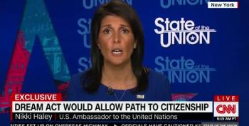 Nikki Haley Punts When Asked If Trump Supports Path To Citizenship For Dreamers