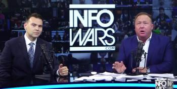 Alex Jones: NFL Players Are 'Kneeling To White Genocide'