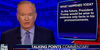 Bill O'Reilly: Trump Not Smart Enough To Grasp The History Of The Nazis