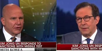Fox News' Chris Wallace To McMaster On North Korea: 'You're Not About To Go To War'