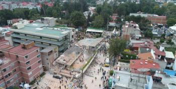 Desperate Parents, Missing Children At Quake-hit Mexico City School