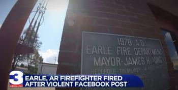 Arkansas Firefighter: Have Snipers Shoot Protesting Players