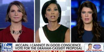 'Objective' Fox Anchor Swipes At McCain After He Opposed Graham-Cassidy Bill