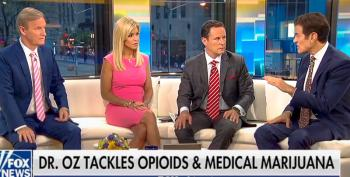Dr. Oz Stuns Fox & Friends Hosts With Rant In Support Of Medical Marijuana