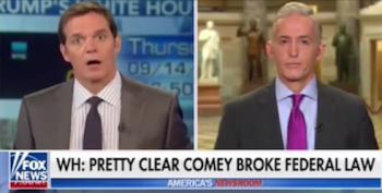 Trey Gowdy Smacks Down Huckabee Sanders For Advocating Comey Charges
