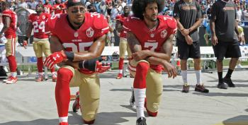 Athletes Take A Knee In Response To Trump's Attacks On Colin Kaepernick