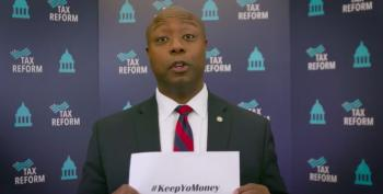 You Can't Make This Up: Tim Scott Promotes 'Keep 'Yo Money'