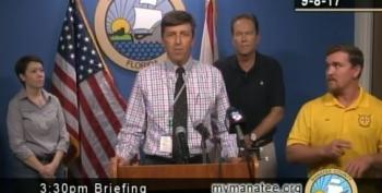 Sign Language Interpreter Warned Of Bears, Monsters During Hurricane Irma Update