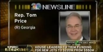 Politico: Sec.Tom Price Spent $300K So Far On Private Jet Charters